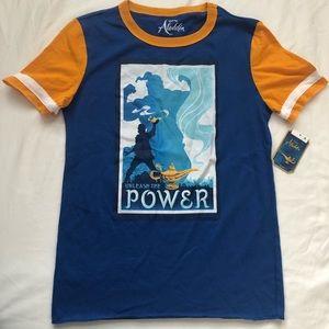Disney Aladdin T Shirt Sz L